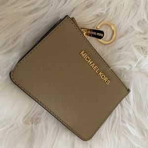 Michael Kors small coin pouch ID holder